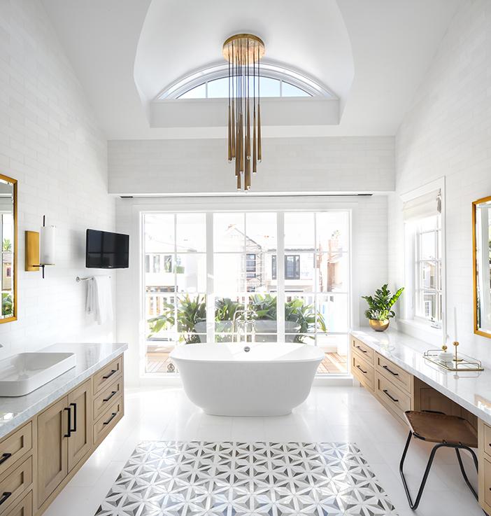 Les tendances 2018 pour une salle de bains design