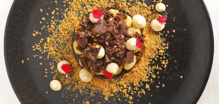 Douceur de banane & cacao, par le Chef Thibault Barbafieri